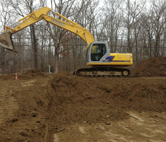 excavation contractors doing land clearing in CT