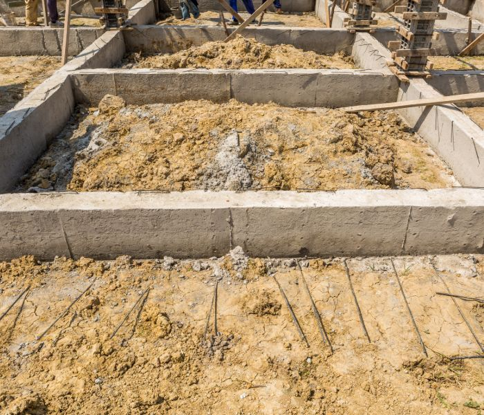 general excavation foundation with erosion control in CT